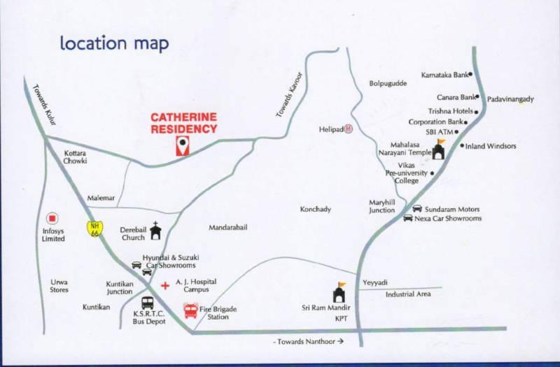 catherine-residency Location Plan
