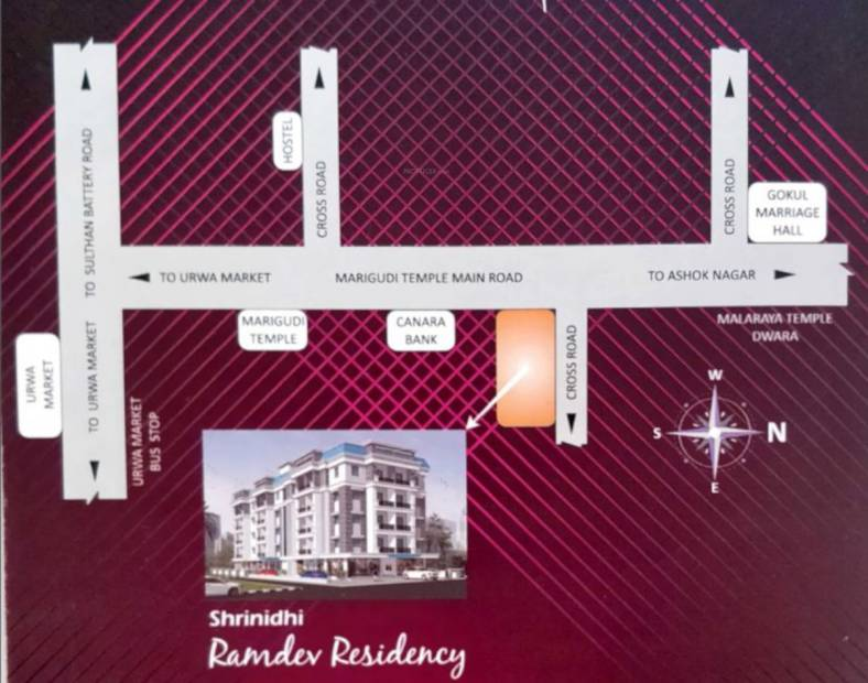 Images for Location Plan of Srinidhi Shrinidhi Ramdev Residency