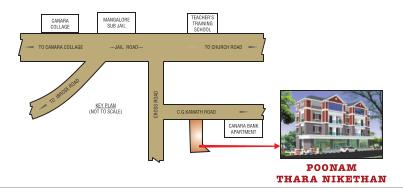 poonam-taranikethan Location Plan