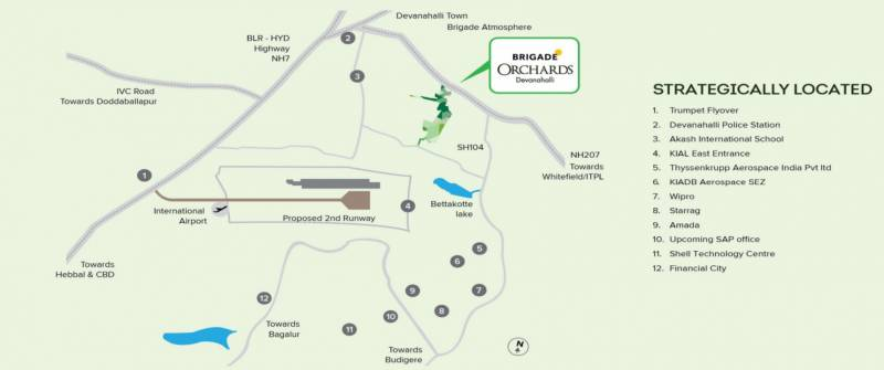 Images for Location Plan of BCV Kino At Brigade Orchards