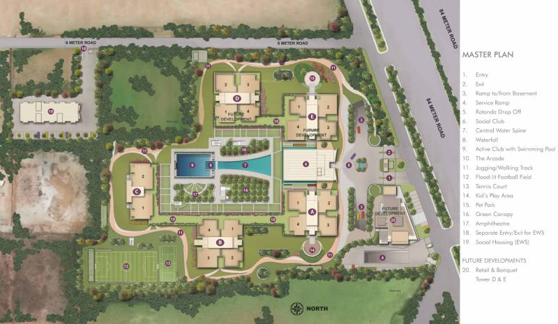 Images for Master Plan of Conscient Hines Elevate