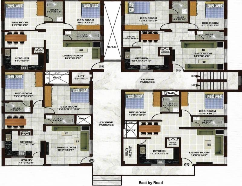 Images for Cluster Plan of KVVSV Sai Sannidhi