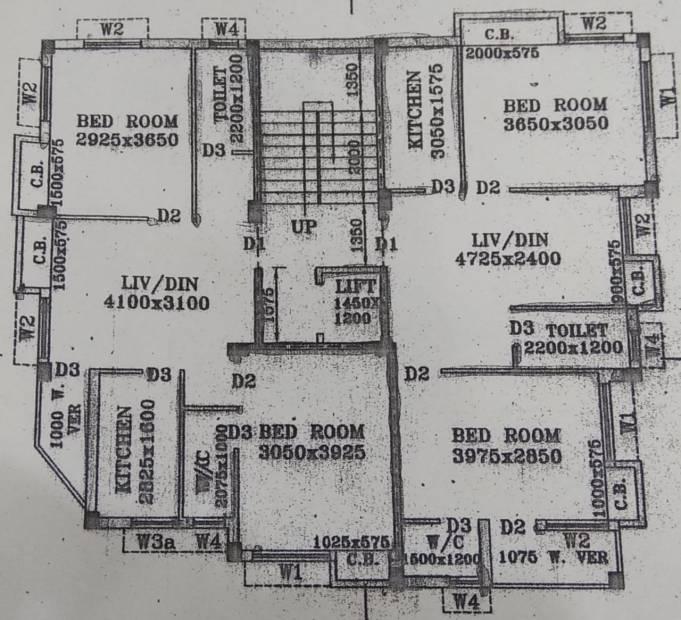 Images for Cluster Plan of Nandy Avisha Apartment