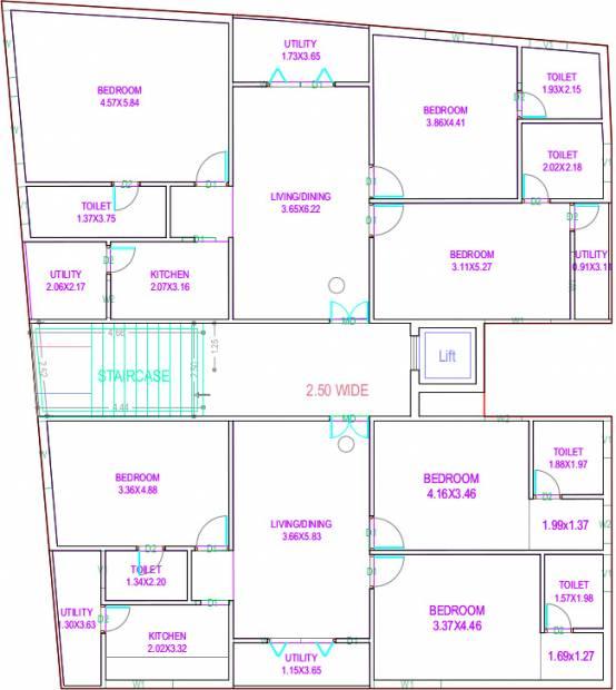 Images for Cluster Plan of Moiz Moiz Housing Project I