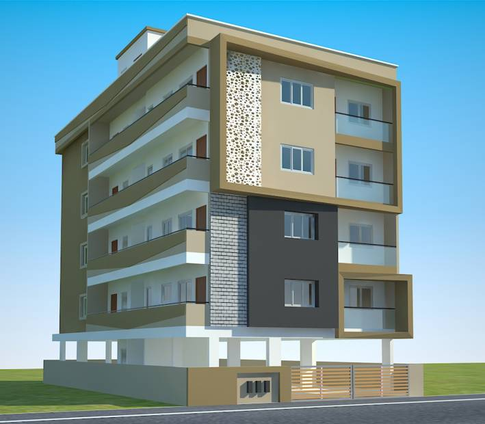 Images for Elevation of Eswar Saitej Enclave