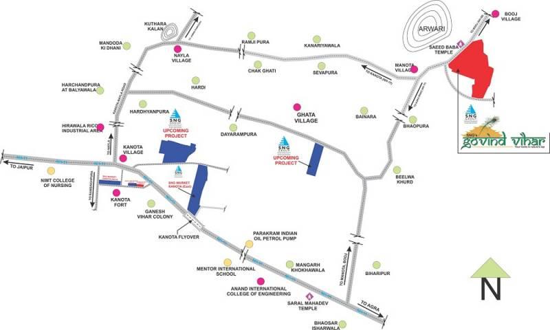 Images for Location Plan of SNG Govind Vihar