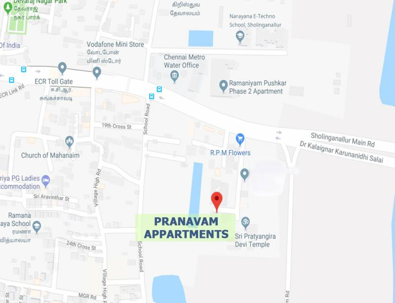 Images for Location Plan of Double T Pranavam