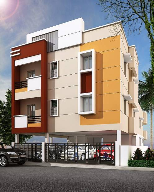 Images for Elevation of Muthu Prithishka Homes