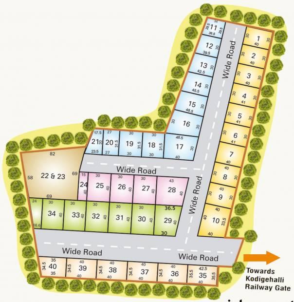 Images for Layout Plan of Enrich JV Enclave