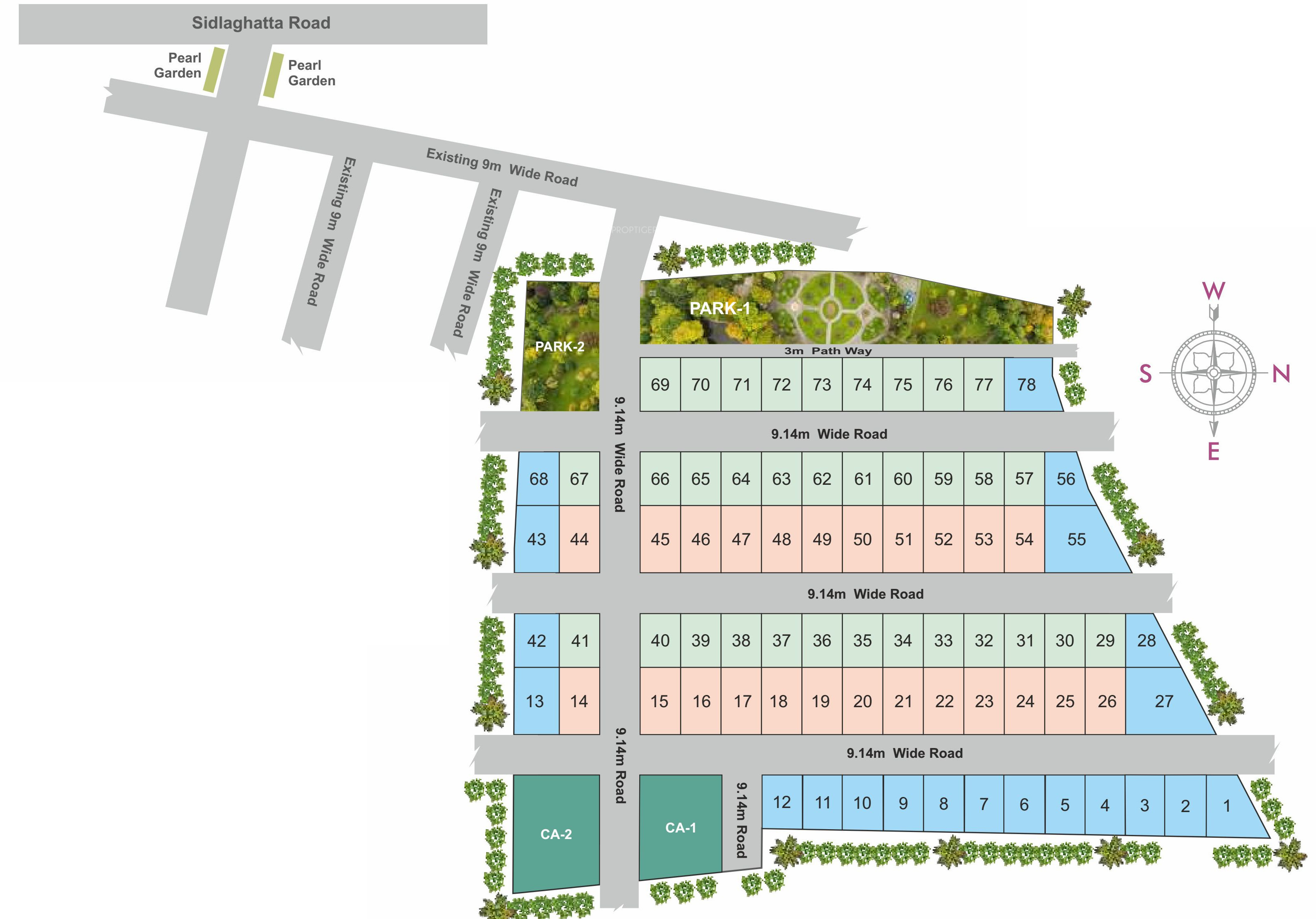 ASN Sai Enclave in Whitefield Hope Farm Junction, Bangalore