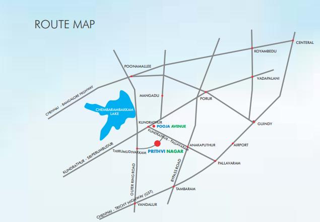 Images for Location Plan of Urban Prithvi Nagar