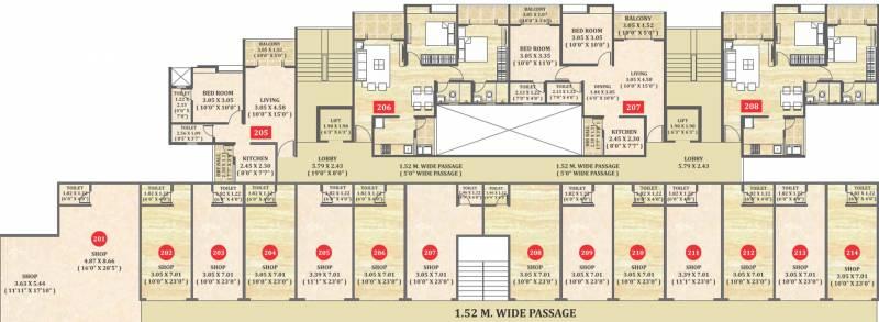 Images for Cluster Plan of Ravinanda Ravinanda 37