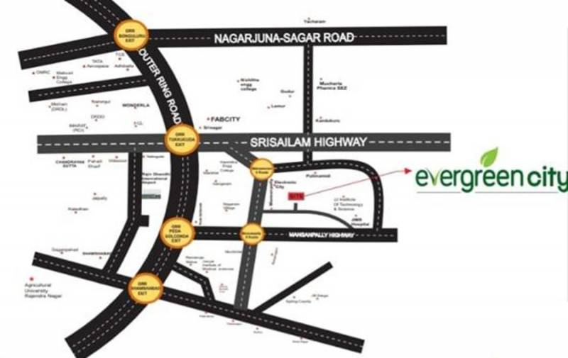 Images for Location Plan of Sandstone Evergreen City