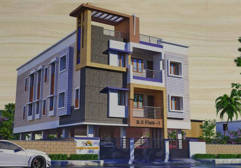 Images for Elevation of Surrya B S Flats 1