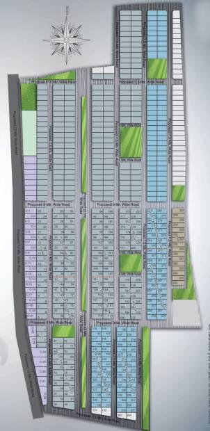 mayur-homes-villa Site Plan