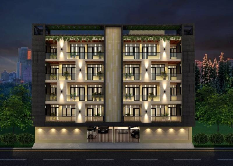 Images for Elevation of Nirmal Young India Homes