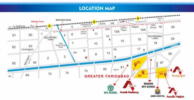 sankalp Location Plan