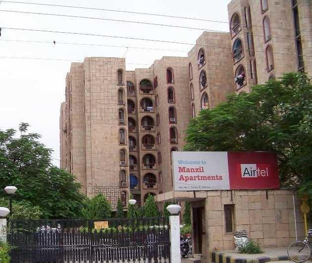 manzil-apartments Elevation