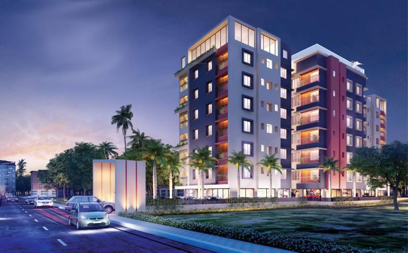 saraswati-apartment Elevation