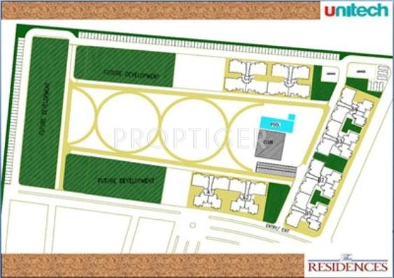Images for Layout Plan of Unitech The Residences