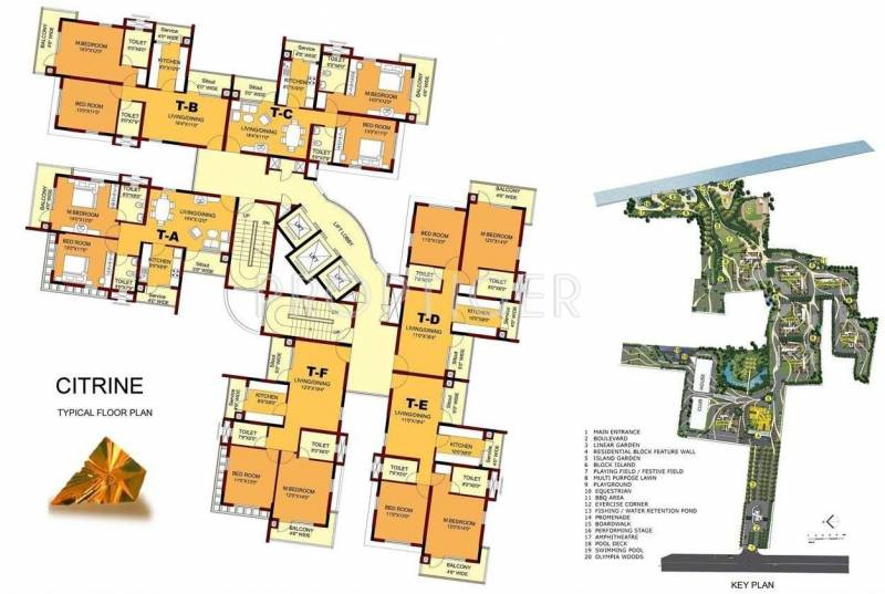Images for Cluster Plan of Olympia Opaline