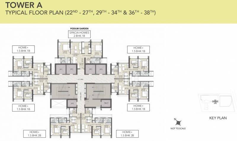 kalpataru-elitus Cluster Plan