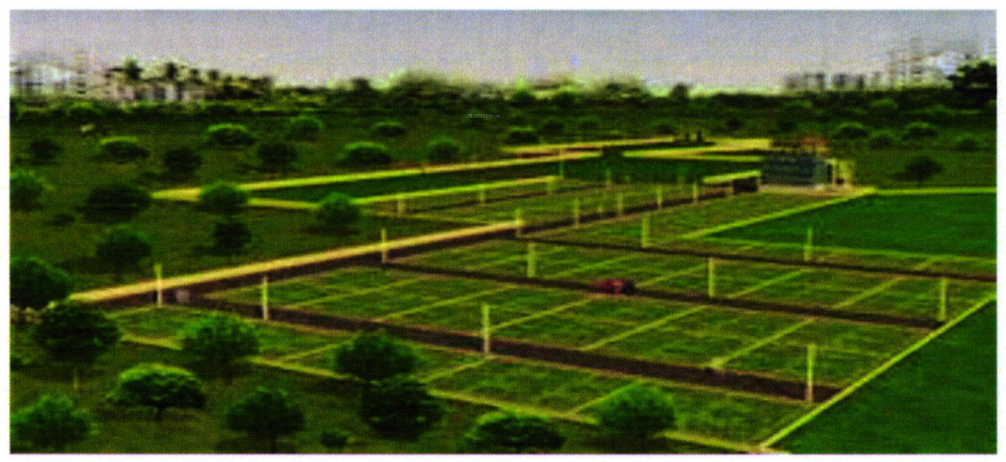 1158 sq ft Plot for Sale in Shubh Developers Pethapur Siddheshwari ...