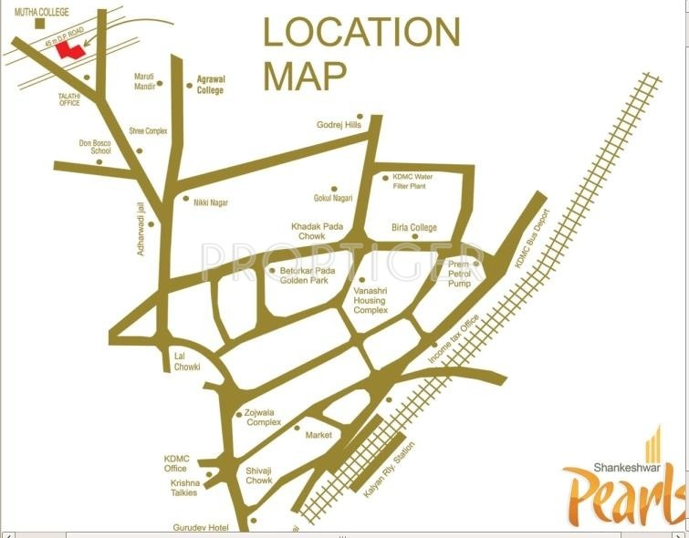 Images for Location Plan of Shankheshwar Pearls