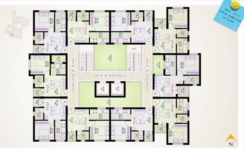 Images for Cluster Plan of Vijay Lotus Pond