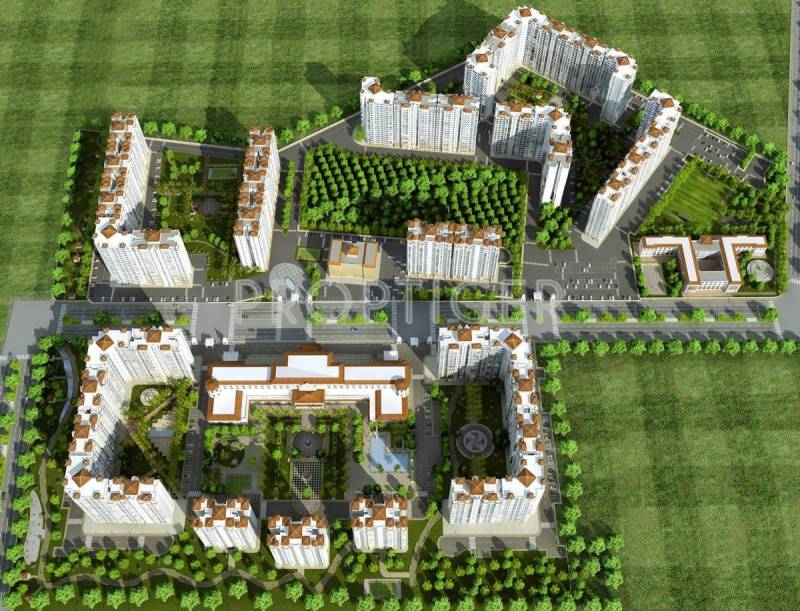 gardencity Images for Master Plan of DLF Gardencity