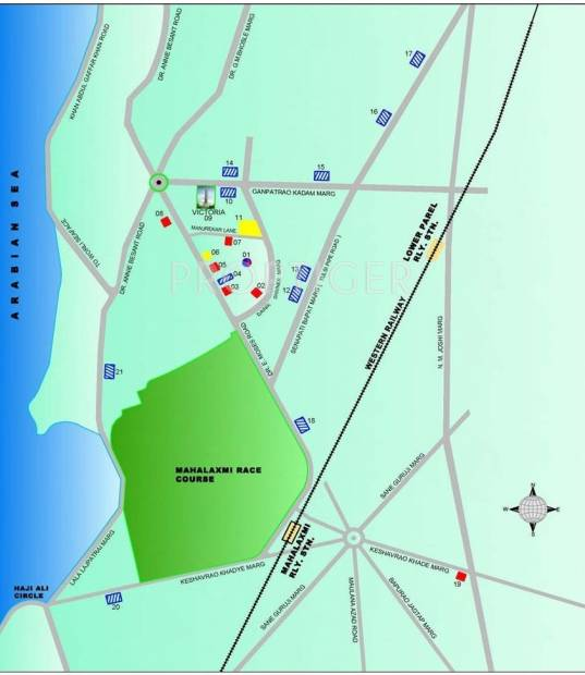 Images for Location Plan of Lokhandwala Victoria