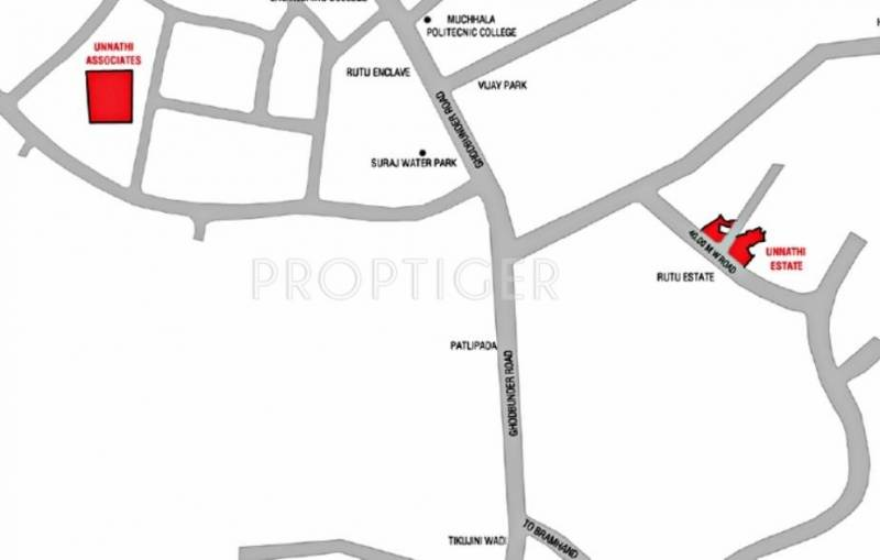 Images for Location Plan of Raunak Unnathi Greens