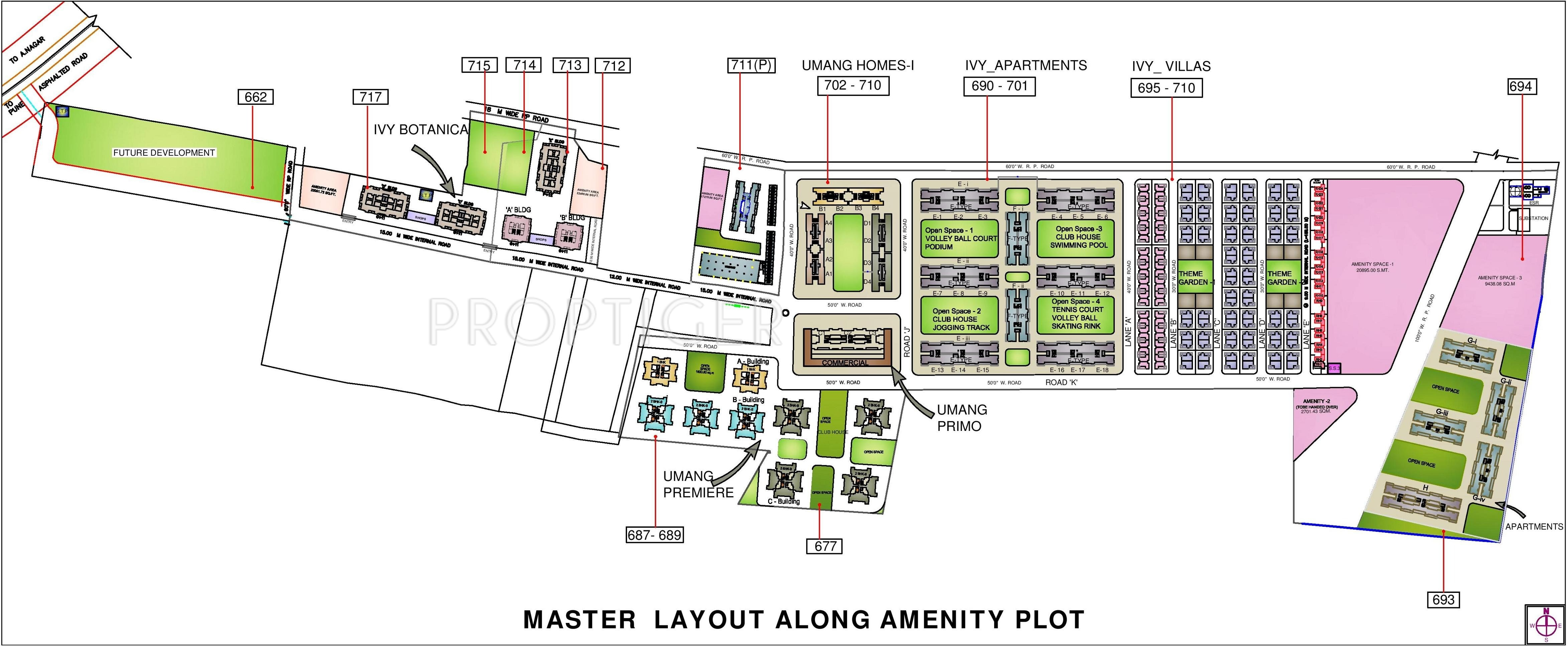 Kolte patil ivy apartments in wagholi pune price for Apartment master plans