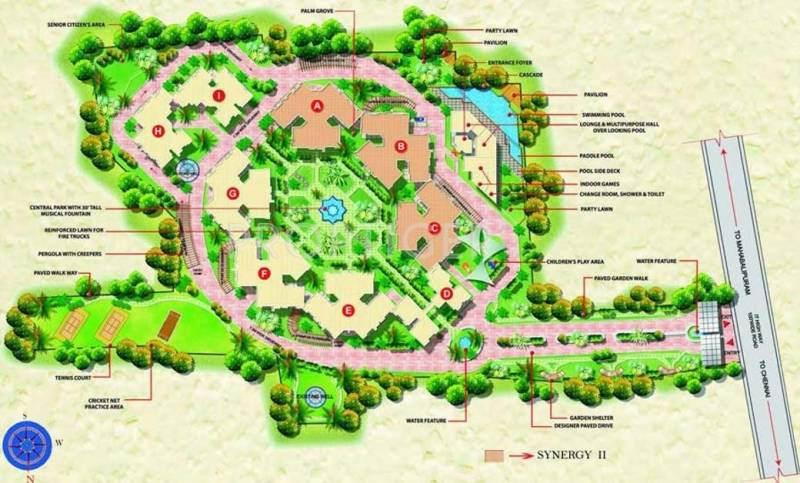 Images for Master Plan of Mantri Synergy 2