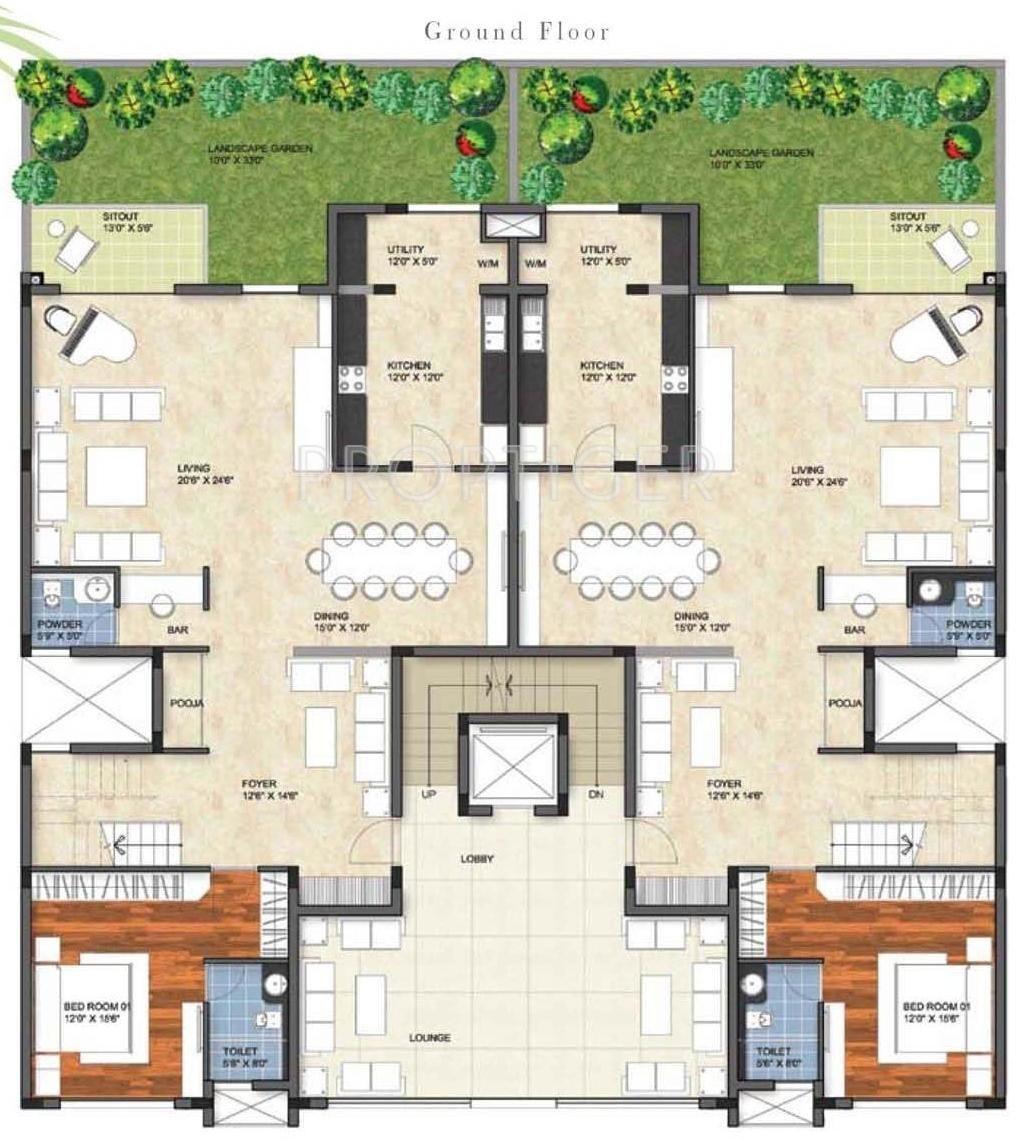 delighful garden by the bay floor plan club and residences in - Garden By The Bay Floor Plan