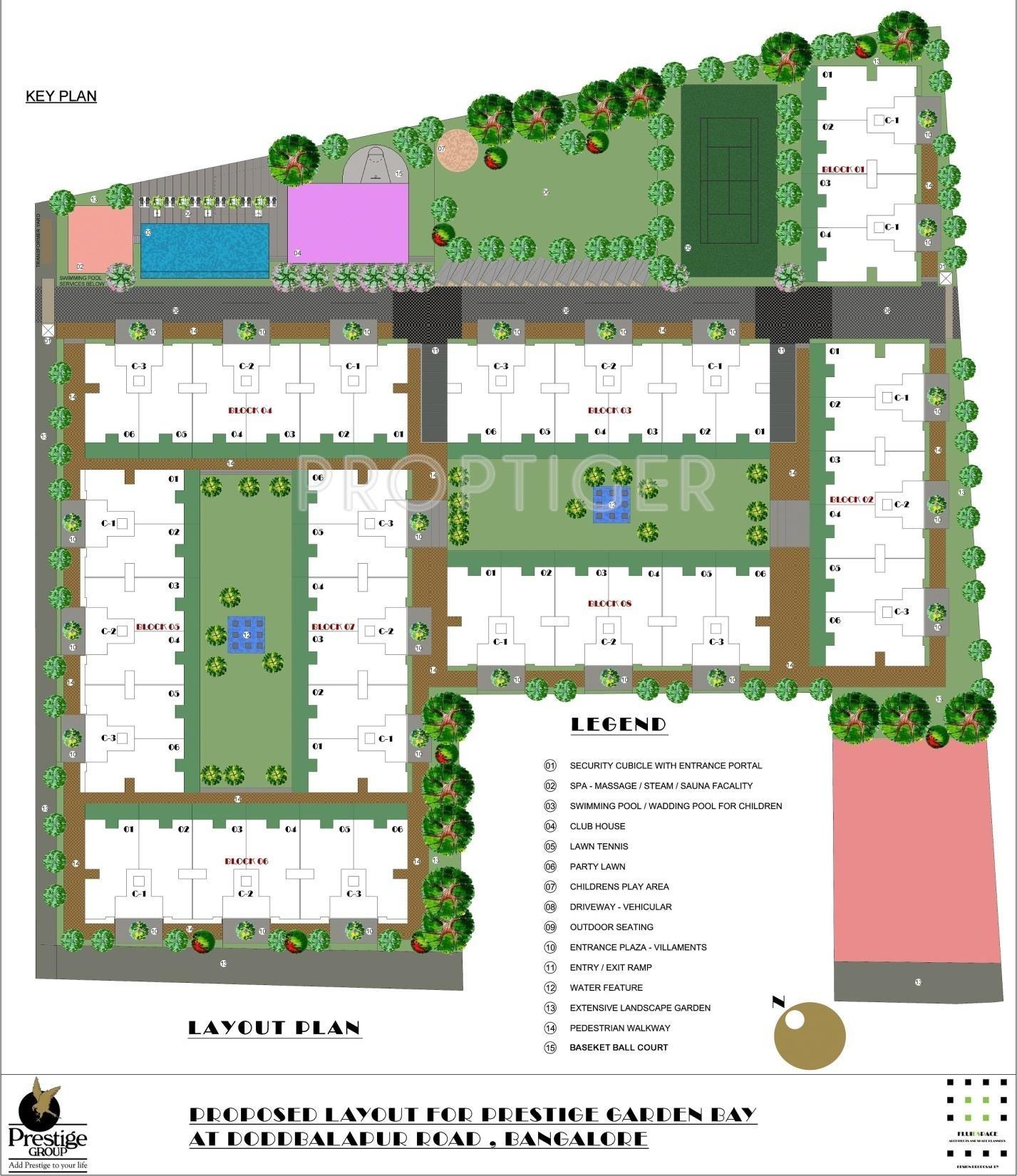 garden by the bay floor plan
