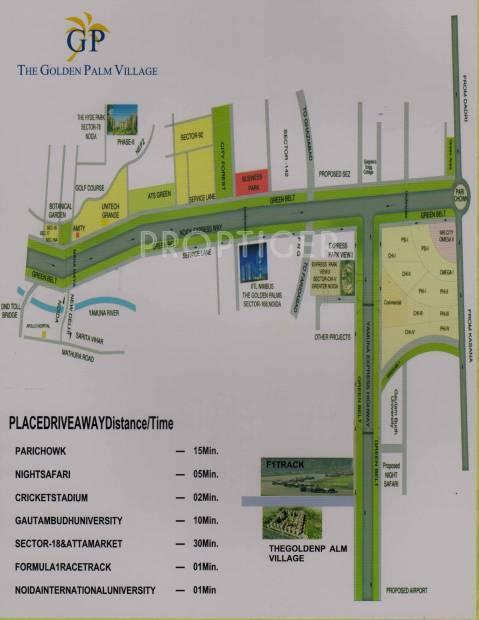 Images for Location Plan of Nimbus Golden Palm Village