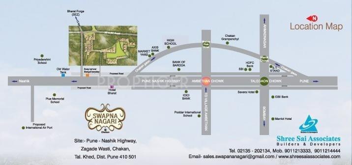 swapna-nagari Images for Location Plan of Shree Sai Swapna Nagari