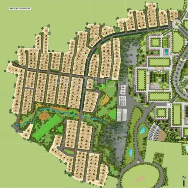 Images for Layout Plan of Pacifica Aurum Villas