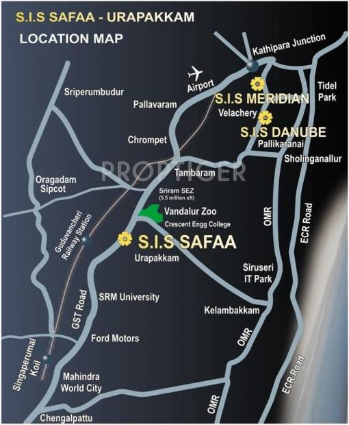 Images for Location Plan of South India Safaa