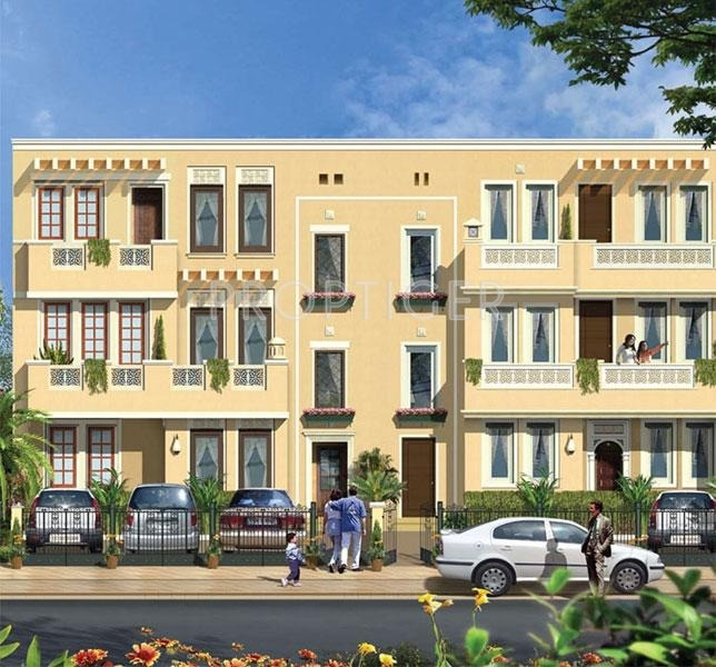 the-terraces-villa-floors Images for Elevation of Emaar India The Terraces Villa Floors