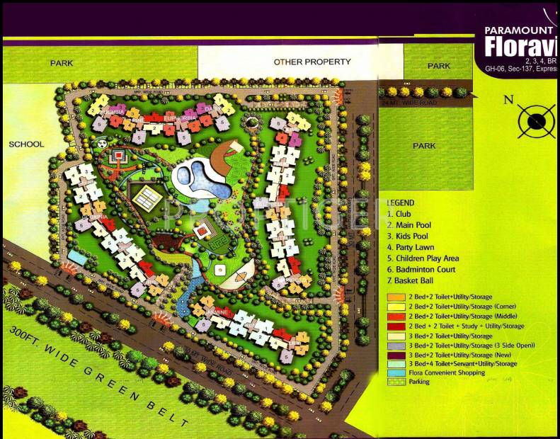 Images for Site Plan of Paramount Floraville
