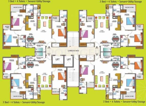 Images for Cluster Plan of Paramount Floraville
