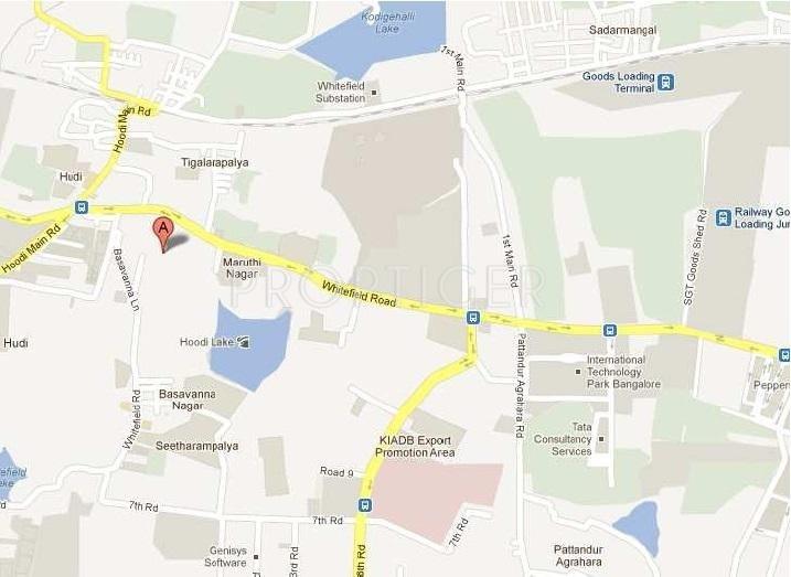 Images for Location Plan of Ittina Akkala Apartments