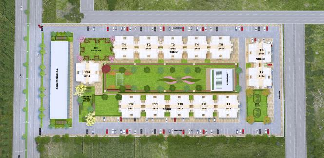 green-avenue Site Plan