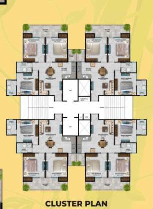 green-avenue Tower 1 Cluster Plan