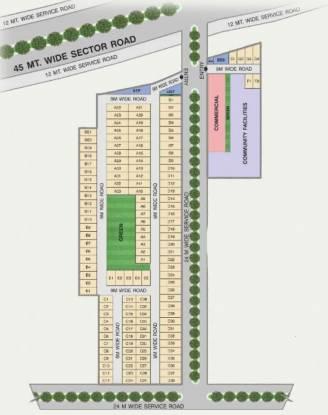 district-2 Layout Plan