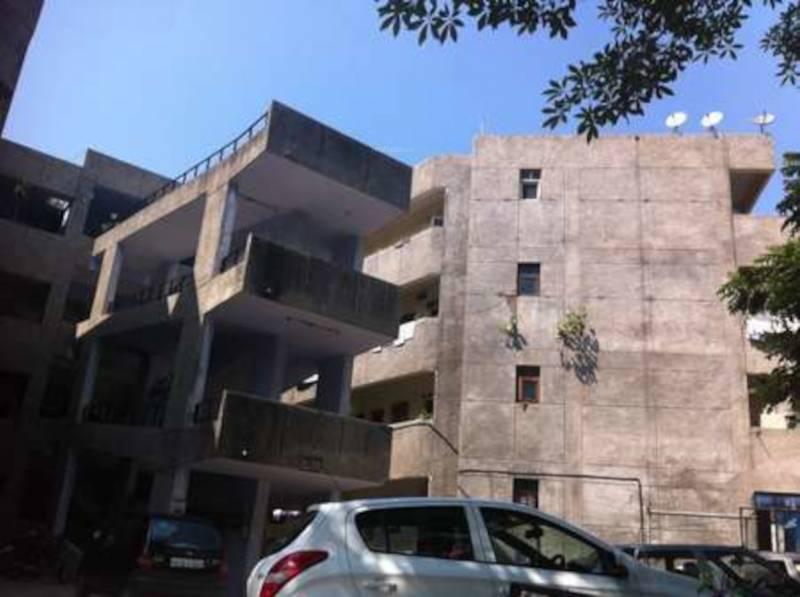 modern-housing-complex Elevation