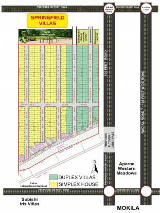 springfield-villas Master Plan