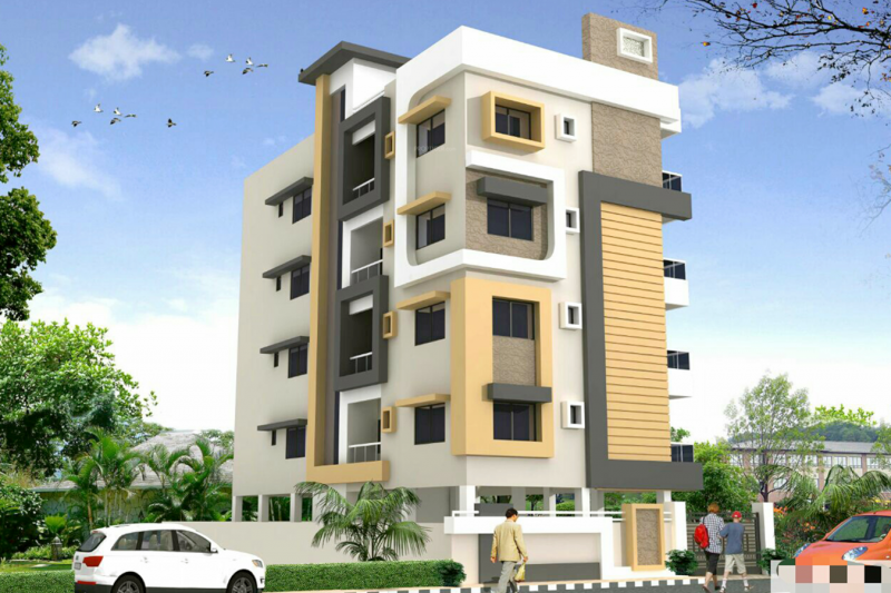 sachin-residency Elevation